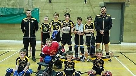 Under 13s Scorpions, a Fenland success story. Skaters Rink Hockey Club (The Scorpions) has been runn
