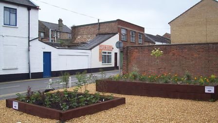 Renaissance schemes already funded by Fenland District Council. They include Grays Lane, March. Pict