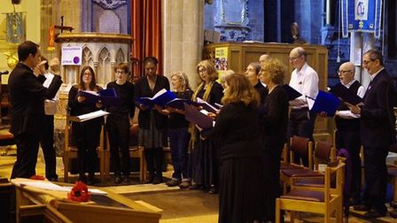 More than £500 has been raised at a Wisbech concert for refugees in Cambridgeshire. Picture: SEAN FI