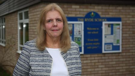 Head of The Ryde School Sue Thompson. Picture: DANNY LOO
