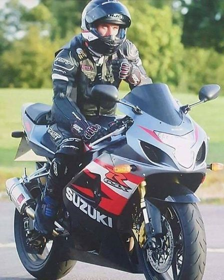 Outwell Santa motorcyclist Michael Howard remembered as an awesome bloke. Picture: Facebook/Cambridg