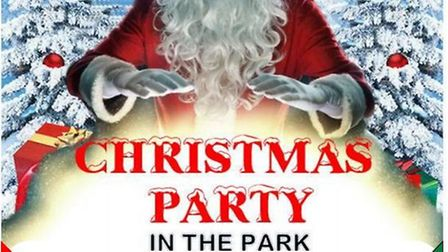 Christmas Party in the Park in Wisbech with free fun and games for all the family.