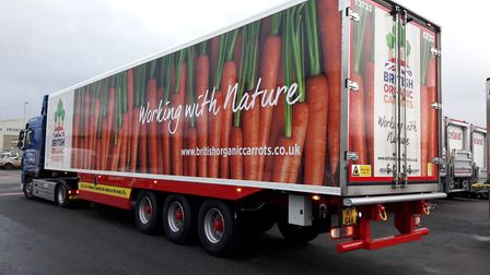 Cambridgeshire based Turners support nationwide campaign to promote British organic carrots. Picture