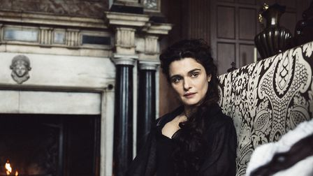 Rachel Weisz in The Favourite, which was filmed at Hatfield House. Here Rachel's character Lady Sara