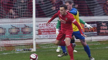 Toby Hilliard scored one goal and had a hand in another as Wisbech Town won at Loughborough Dynamo.