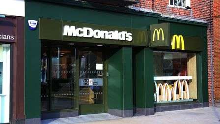 McDonalds in Welwyn Garden City town centre. Picture Danny Loo