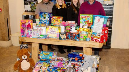 Tydd St Giles Golf & Country Club took part in The Salvation Army Christmas Present Appeal. Picture: