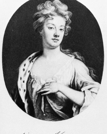 An image of Sarah Churchill, the Duchess of Marlborough, with her signature below. Picture: St Alban