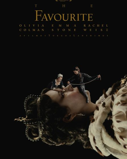 The Favourite stars Olivia Colman, Rachel Weisz and Emma Stone. Picture: Fox Searchlight