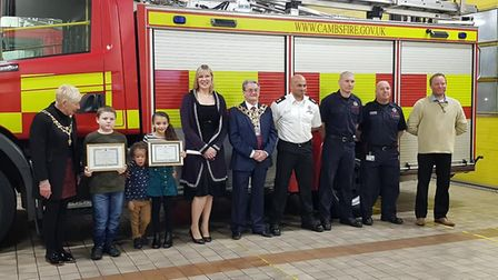 An awards ceremony to recognise the bravery and compassion of young people in the community was held