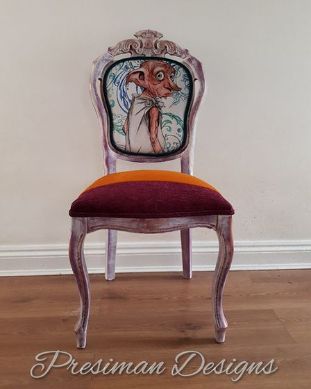 Tia also won a bespoke personalised chair designed by Presiman Designs, as well as all finalists bei