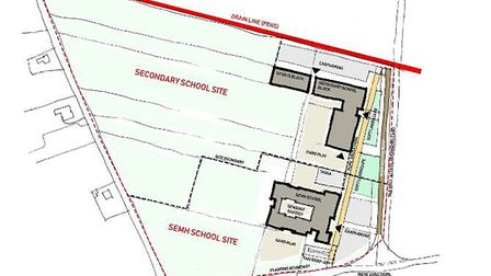 Plans for a new 600-place secondary school in Wisbech will go on display during consultation events