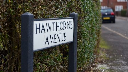 Hawthorn Avenue, Wisbech, where Andrew Sammons was stabbed in his home two days before Christmas 201