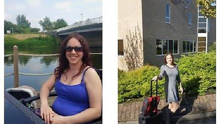 Slimmers in Outwell drop a collective 160 stone. Consultant Jo before and after. Picture: SLIMMING W