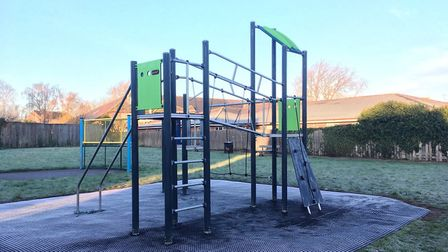 Wisbech play area improvements complete. This is the new look park at Jasmin Close. Picture: FENLAND