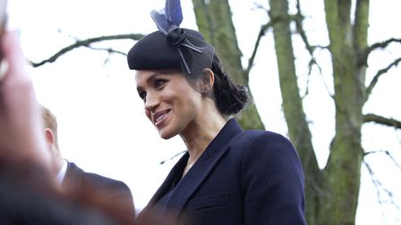 Hundreds of well-wishers braced the cold to see the Royal Family attend the Christmas Day church ser