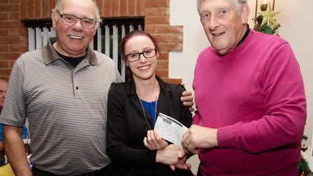 Golfers from Tydd St Giles take part in competition and charity fundraising. Mens club vice captain