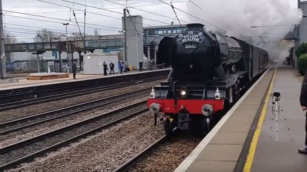 The Flying Scotsman visited Welwyn Hatfield and Potters Bar today. Picture: The Wheat Quarter