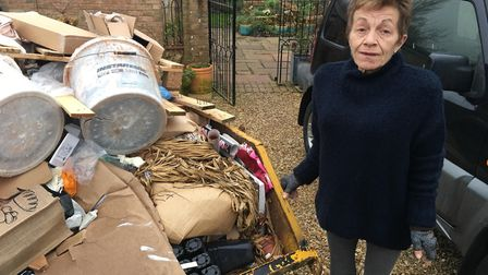 Frances Adams, of Walpole St Andrew, has been left thousands of pounds out of pocket and living in a