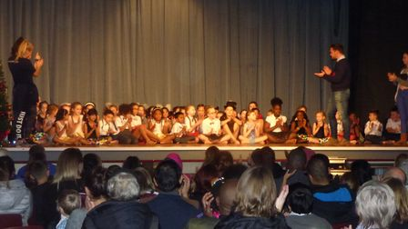 Fours schools from Welwyn Garden City, Hatfield and St Albans appeared in the Premier Arts Talent Sh