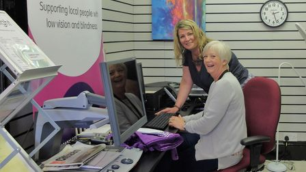 Charity Cam Sight secures £210,000 to help people with low vision and blindness in Wisbech. Dawn Pre