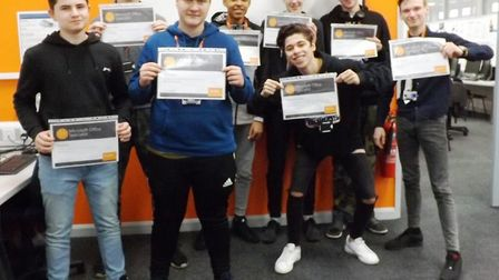 Full marks for Wisbech computing students as they achieve 100 per cent pass rate at College of West