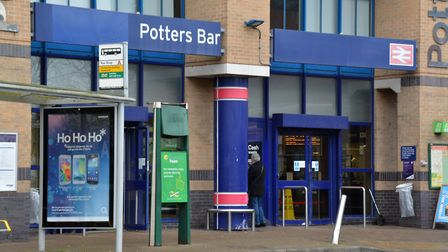 A person has been killed after being hit by a train at Potters Bar Station.