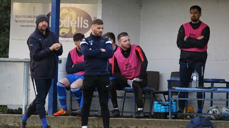 Hatfield Town manager Jason Beck has vowed to carry on fighting this season. Picture: Karyn Haddo