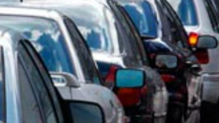Traffic is building on the A1000 near Brookmans Park following a three-car collision