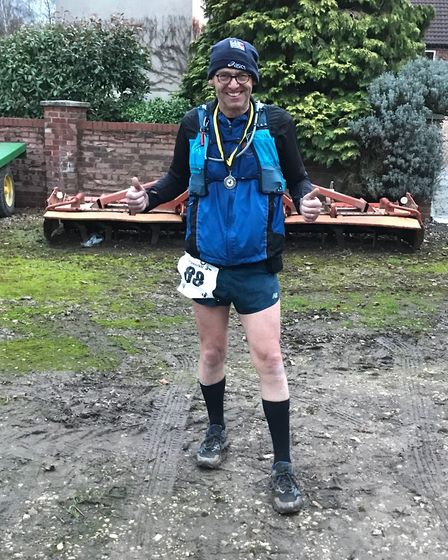 Dave Heal of Garden City Runners completed the Waterway 30 in Nottinghamshire.