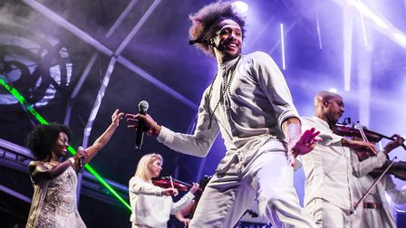 The Urban Soul Orchestra will perform at Classic Ibiza at Hatfield House.