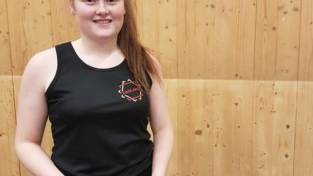 Emma Linnett, of Thomas Clarkson Academy sixth form has been selected for England's under-21s nets s