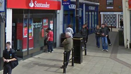 The Wisbech branch of Santander bank is among 140 branches across the UK to close after a change in