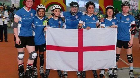 The England Rollball Team are set to compete in the India World Cup in November – including the Norf