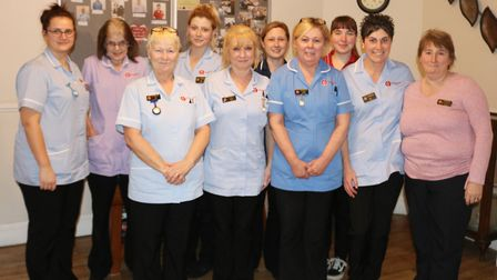 Staff at Lyncroft Care Home (pictured) are delighted with the news that the Wisbech home has been ra