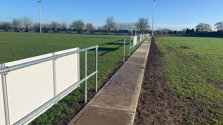 Improvements have gone underway at F.C Parsons Drove near Wisbech following a near £100,000 investme