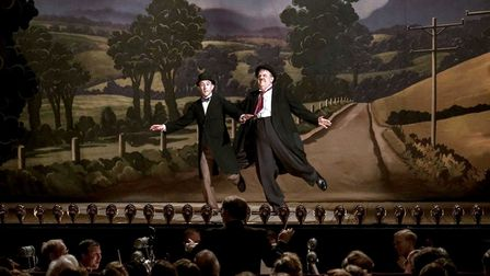 John C. Reilly as Oliver Hardy and Steve Coogan as Stan Laurel. Picture LIGHT CINEMA WISBECH