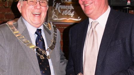 Charity donation, new chairman and more at Wisbech Business & Professional Men's Club's presentation