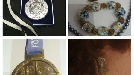 Police investigating a burglary in Welwyn Garden City are appealing to trace these stolen items. Pi