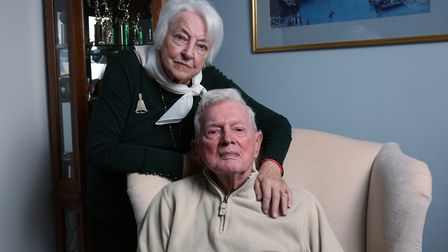 Potters Bar couple Dawn, 84, and Albert Dolbec, 90, fought the threat of deportation for two and a h
