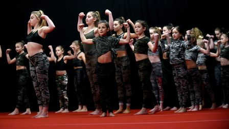 Fenland Gymnastics Academy held their annual extravaganza last night (January 30). Picture: IAN CART