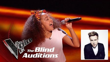 Moroccan singer Kenza Blanka from Wisbech who appeared on The Voice has received praise from Olly Mu