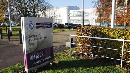 Connor Buttress appeared at Hatfield Magistrates' Court.