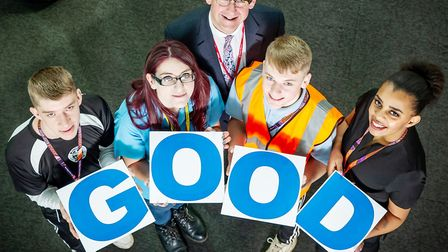 Good times at College of West Anglia after Ofsted visit praises them across the board. Picture: GRAC