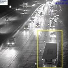 Emergency services have been dealing with a crash on the M25 in Hertfordshire. Picture: Highways E
