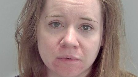 Jessica Prince of Wisbech who has been jailed for fraud: she used her company's credit card to defra