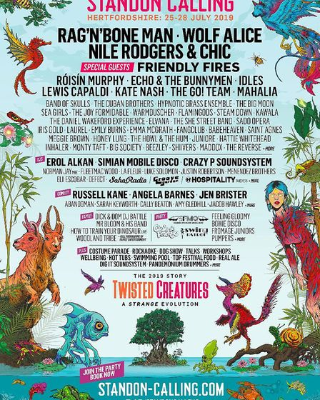 Standon Calling 2019 line-up with Friendly Fires added as special guest