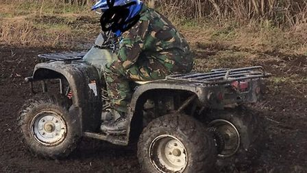 Amazing and generous community support to raise the money needed to replace the quad bike stolen fro