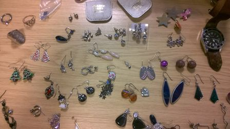 Police are trying to ensure this jewellery, found in Potters Bar and believed stolen, can return to