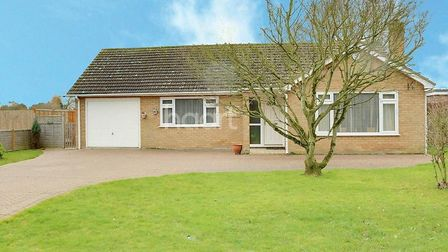 Stunning two-bedroom bungalow for sale in Magazine Lane in Wisbech. Picture: HAART.